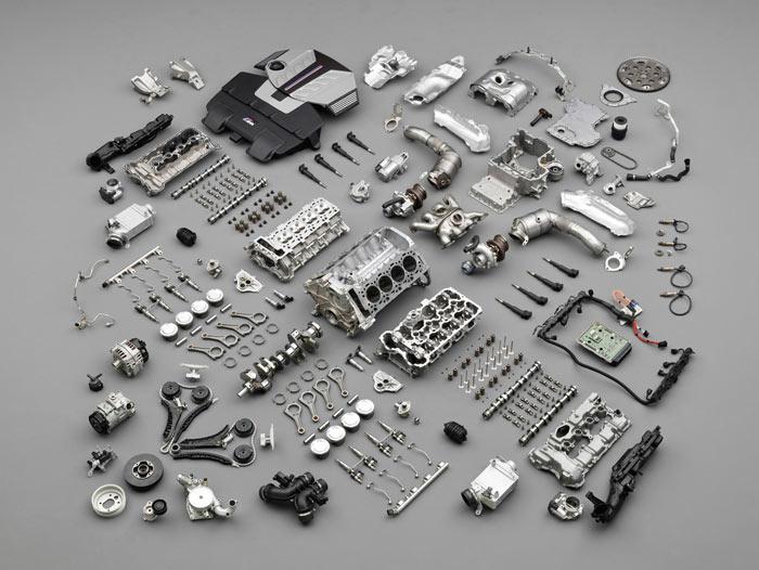 Motor parçaları nelerdir?