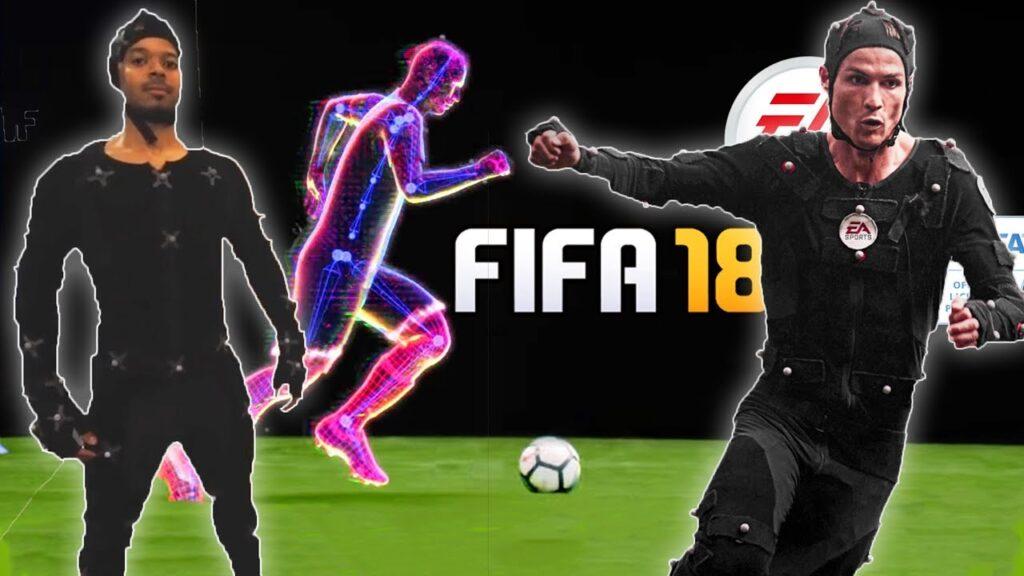 Fifa 18 oyunundaki Cristiano Ronaldo'nun verilerinin Madrid'deki mobil EA Capture stüdyosunda kaydedildiğini biliyor muydunuz?