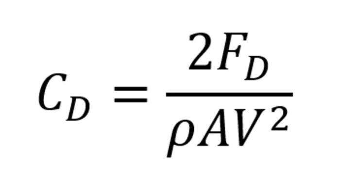 hava direnç katsayısı formülü