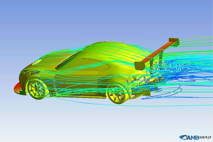 Aerodinamik, Arabanın hava ile etkileşimi