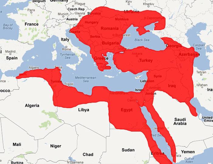 Osmanlı Devleti topraklarına dahil olan ülkeler?