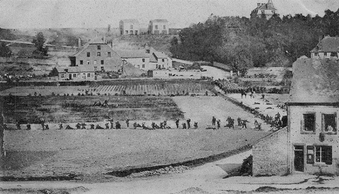 Savaşın ilk fotoğrafı