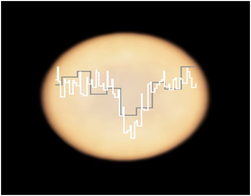 Venüs atmosferindeki ışık