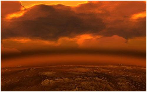 Venüs'ün yüzeyi cehennem manzarasını andırmaktadır