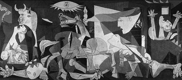 Guernica-Picasso resimleri
