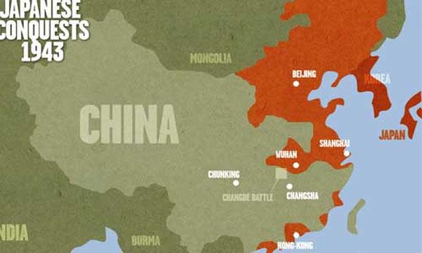 japonya'nın Çin İşgali