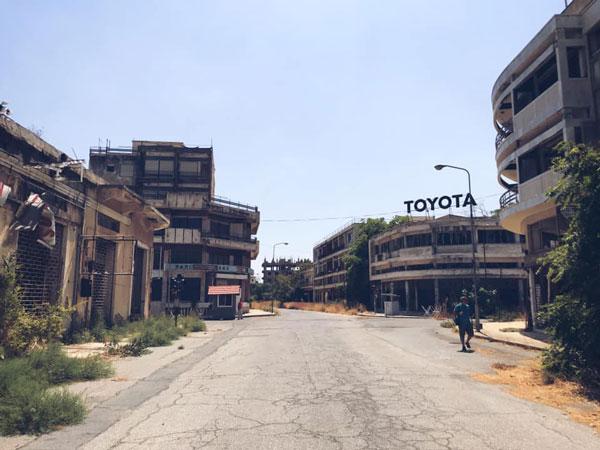 hayalet şehir  Kıbrıs