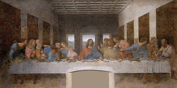 Son Akşam Yemeği-Leonardo da Vinci