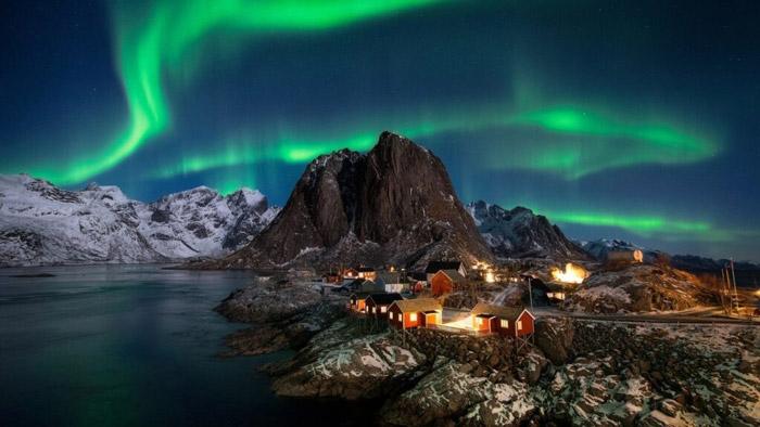 Norveç kuzey ışıkları