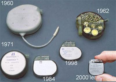 Pacemaker tarihi. Kalp pilini kim icat etti?