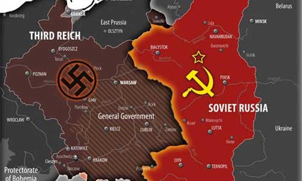 Rusya'nın Almanya tarafından işgali