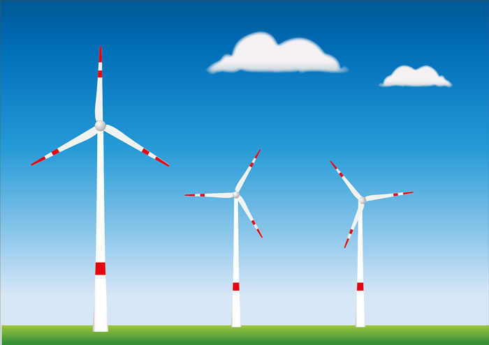 Rüzgar türbinlerinin çalışma prensibi