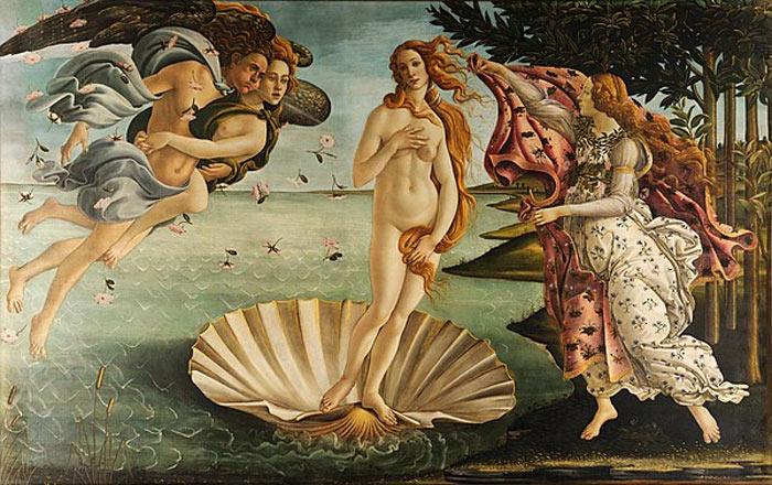 The Birth Of Venüs- Sandro Botticelli