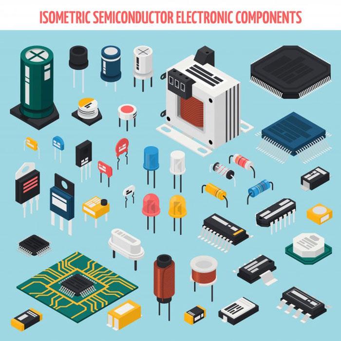 yarı iletken elektrik devre elemanları