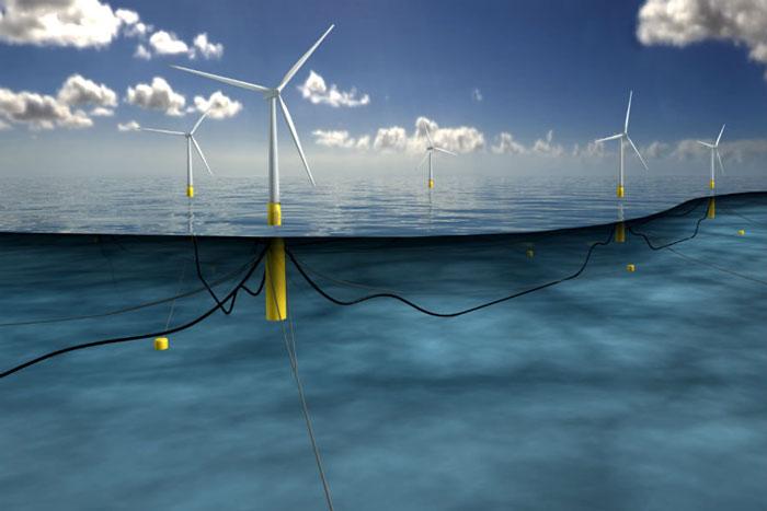 Yüzen rüzgar türbinleri