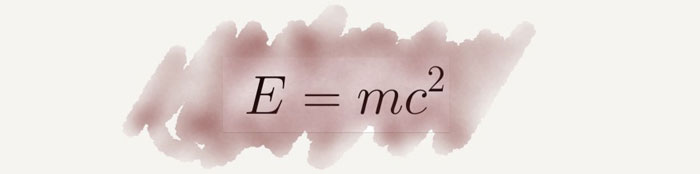 Einstein ünlü denklemi ve anlamı