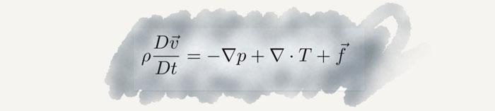 Navier- Stokes Denklem anlamı
