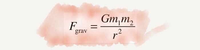 Newton evrensel çekim yasası denklem ve önemi