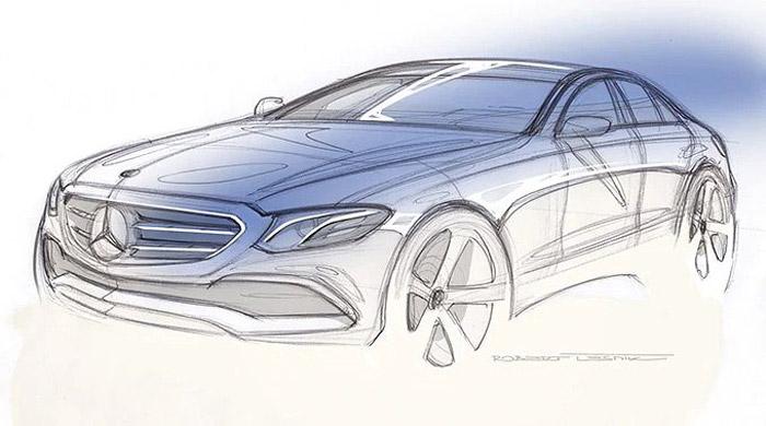 araba tasarımı ve üretim aşamaları çizim
