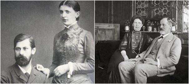 Psikanalizin Babası Freud ve Eşi