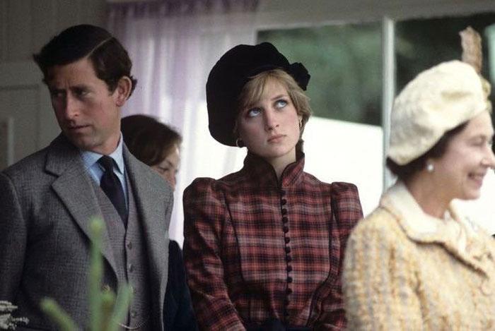 Elizabeth ve prenses diana